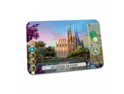 Настольная игра 7 Wonders: Duel - Sagrada Familia  (7 Чудес: Дуэль)