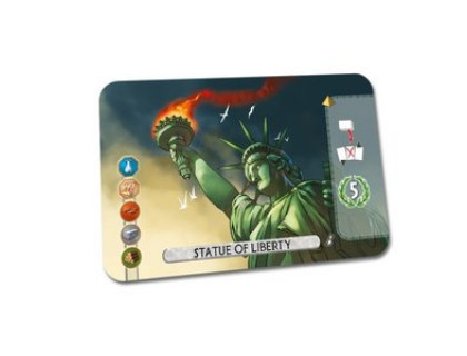 Настольная игра 7 Wonders: Duel - Statue of Liberty (7 Чудес: Дуэль)