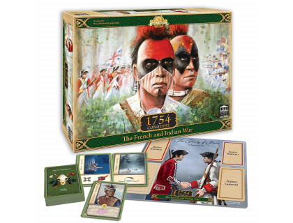 Настольная игра 1754 - Conquest: The French and Indian War