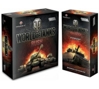 Настольная игра World of Tanks: Rush (Мир Танков) + World of Tanks: Rush - Мир Танков Второй фронт