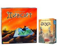 Настольная игра Dixit (Диксит) + Dixit add (Диксит дополнение)