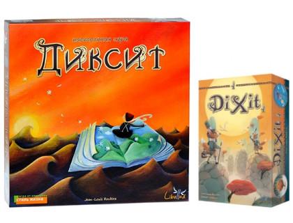 Настольная игра Диксит(Dixit) + Диксит дополнение (Dixit add )
