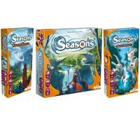 Настольная игра Seasons (Сезоны, Времена года) + Seasons: Enchanted Kingdoms (Сезоны: Зачарованные королевства) + Seasons: Path of Destiny (Сезоны: Путь судьбы)