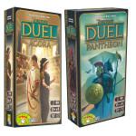 Настольная игра 7 Wonders: Duel Agora + Pantheon (7 Чудес Дуэль: Агора + Пантеон)