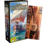 Настольная игра 7 Wonders: Armada (7 Чудес: Армада) + чудо света Сиракузы