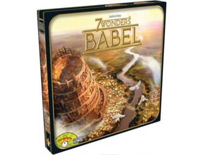 Настольная игра 7 Wonders Babel (7 Чудес Вавилон)