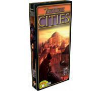 Настольная игра 7 Wonders Cities (7 чудес Города) американское издание