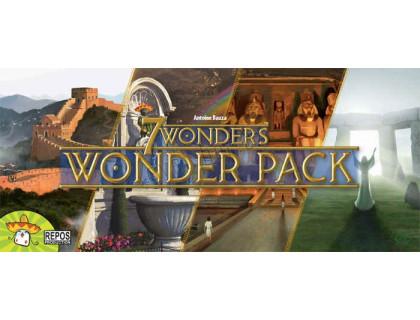 Настольная игра 7 wonders: Wonder Pack (7 Чудес Света: набор чудес)