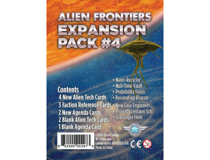 Настольная игра Alien Frontiers: Expansion Pack #4 (Чужие рубежи)