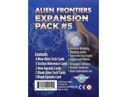 Настольная игра Alien Frontiers: Expansion Pack #5 (Чужие рубежи)