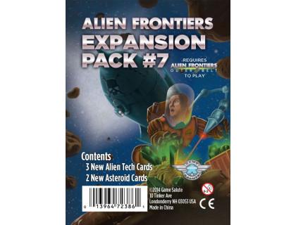 Настольная игра Alien Frontiers: Expansion Pack #7 (Чужие рубежи)
