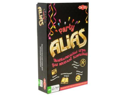Настольная игра Алиас для вечеринок компактная (Алиас Пати компактная, Alias Party compact)