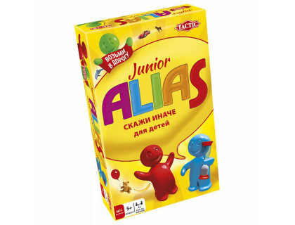 Настольная игра Алиас для малышей компакт (Alias junior compact)