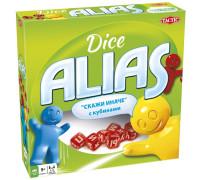 Настольная игра Алиас с кубиками (Alias, Скажи иначе, Элиас)