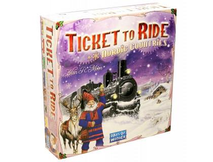 Настольная игра Билет на поезд: Северные страны (Ticket to Ride: Nordic Countries) русское издание