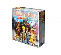 Настольная игра Билет на поезд: Джуниор. Европа (Ticket to Ride Junior)