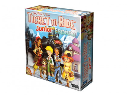 Настольная игра Билет на поезд: Джуниор. Европа (Ticket to Ride Junior)