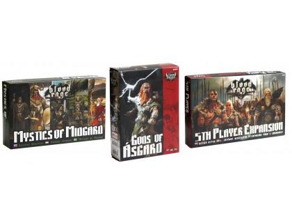 Настольная игра Blood Rage: 3 Expansions (Кровь и Ярость: 3 дополнения)