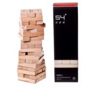 Настольная игра Башня 54 градуса (Башня, Дженга, Jenga)