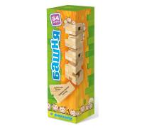 Настольная игра Башня для детей (Башня, Дженга, Jenga)