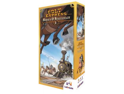 Настольная игра Colt Express: Horses & Stagecoach (Кольт Экспресс: Лошади и дилижанс)