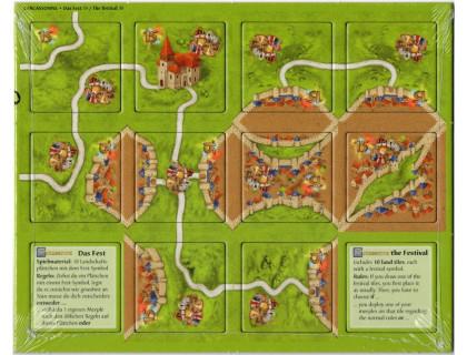 Настольная игра Каркассон: Фестиваль (Carcassonne: The Festival)