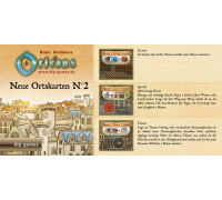 Настольная игра Orleans: Expansion 2 (Orleans: Place Tiles №2, Орлеан: Дополнение 2)