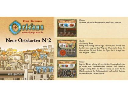 Настольная игра Orleans: Expansion 2 (Orleans: Place Tiles №2, Орлеан: Дополнение 2)
