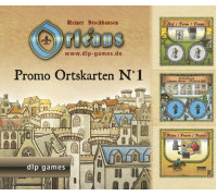 Настольная игра Orleans: Expansion 1 (Orleans: Place Tiles №1, Орлеан: Дополнение 1)