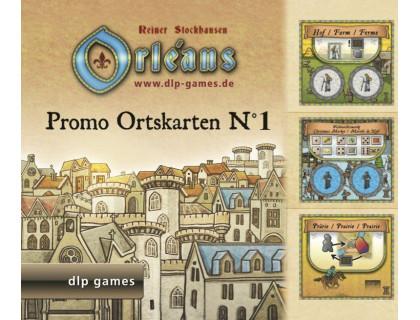 Настольная игра Orleans: Expansion 1 (Orleans: Place Tiles №1, Орлеан: Дополнение 1)