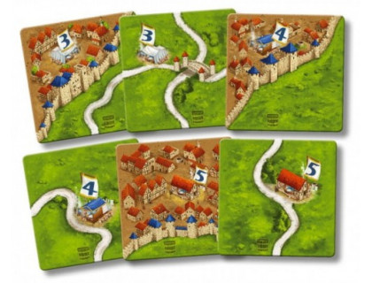 Настольная игра Carcassonne: Die Bader (Каркассон: Парикмахеры)