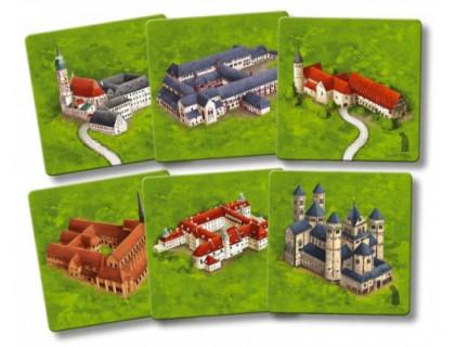 Настольная игра Carcassonne: Die Klöster in Deutschland (Каркассон: Немецкие монастыри) второе издание