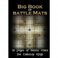 Настольная игра The  Big Book of Battle Mats (Большая книга боевых полей для подземелий)