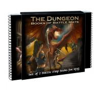 Настольная игра The Dungeon Books of Battle Mats (Книги боевых полей для подземелий)