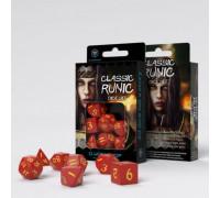 Набор кубиков для RPG Runic (Рунические: цветные)