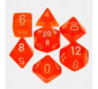 Набор кубиков для RPG Прозрачный мини (RPG Glassy Dice mini)