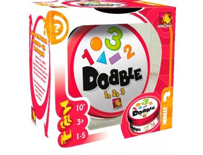 Настольная игра Доббль Цифры и формы Числа (Spot It!, Dobble, Добл для детей, 123)