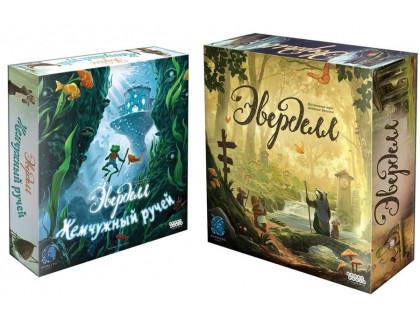Настольная игра Эверделл (с органайзером) + Эверделл: Жемчужный ручей