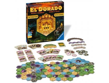 Настольная игра The Quest for El Dorado: Heroes and Hexes (В поисках Эльдорадо)