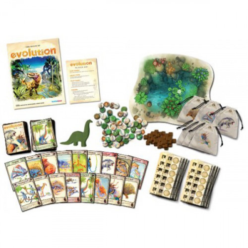 the evolution of the board game the game of life North star games is raising funds for the evolution game system on kickstarter evolution is a board game that puts you in a dynamically changing ecosystem it features original watercolors by catherine hamilton.