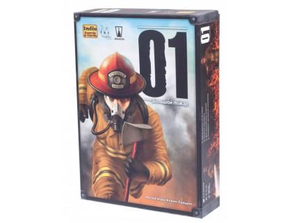 Настольная игра 01 Большой Пожар (Flash Point: Fire Rescue) русское издание