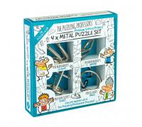 Набор из 4 металлических головоломок Puzzling Professors (4 Metal Puzzle Set)