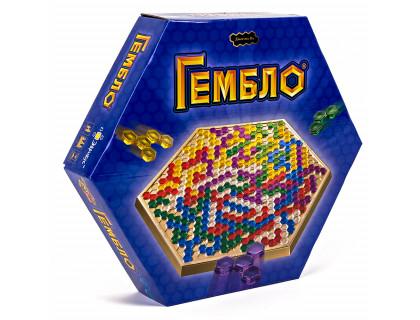 Настольная игра Гембло (Gemblo, Blokus, Блокус)
