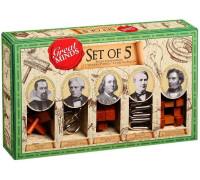 Набор из 5 головоломок Великие Умы (Great Minds-Set of 5)