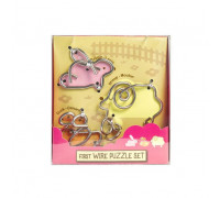 Головоломка First Wire Puzzle Set Animal