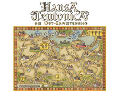 Настольная игра Hansa Teutonica: East Expansion (Ганза Тевтоника: Восточная Европа)