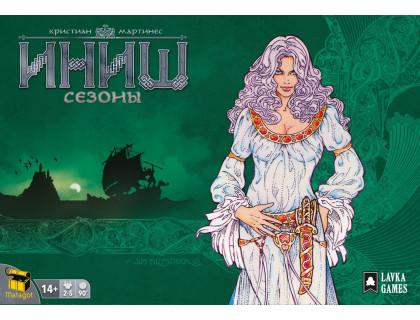 Настольная игра Иниш. Сезоны (Inis) европейское издание