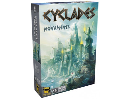 Настольная игра Cyclades: Monuments (Киклады: Монументы)