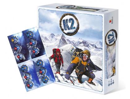 Настольная игра K2 + K2: The Avalanche (К2 + К2: Лавина)