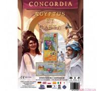 Настольная игра Конкордия. Крит и Египет